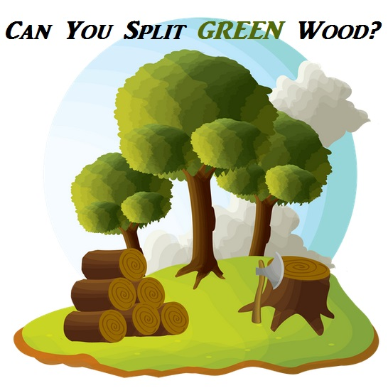 Can You Split Green Wood Effectively