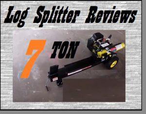 7 Ton Log Splitter Reviews