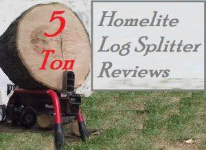 Homelite Electric Log Splitter Reviews