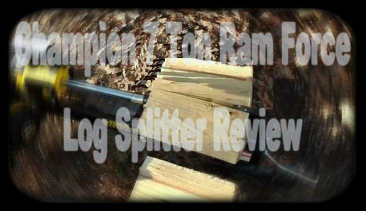 Champion 7 Ton Log Splitter Reviews