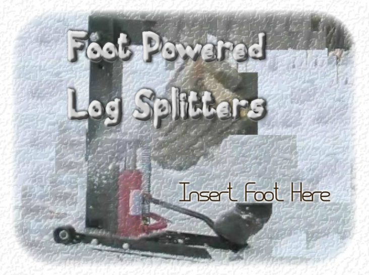 Foot Operated Log Splitter Reviews