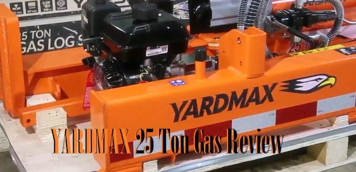 Yard Max 25 Ton Log Splitter Reviews