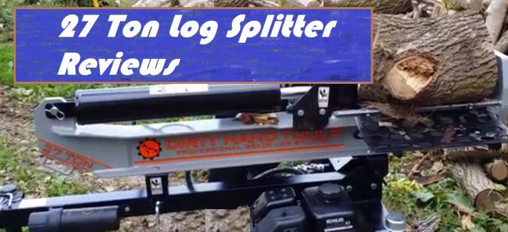 Best 27 Ton Log Splitter Reviews