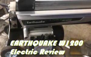 Earthquake Log Splitter Reviews