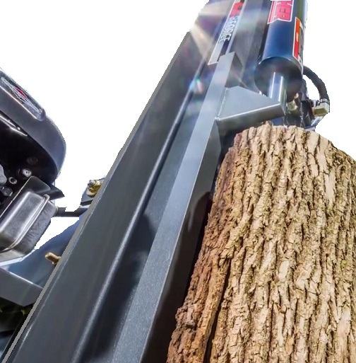 Vertical Position Of A Log SPlitter