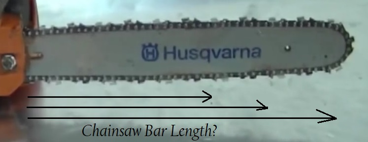 Chainsaw Bar Length Comparison