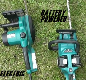 Electric Vs Battery Chainsaw Comparisons