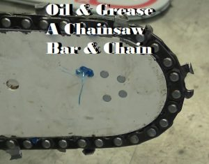 How To Oil A Chainsaw Bar