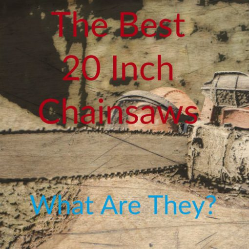 Best 20 Inch Gas Chainsaws In 2019