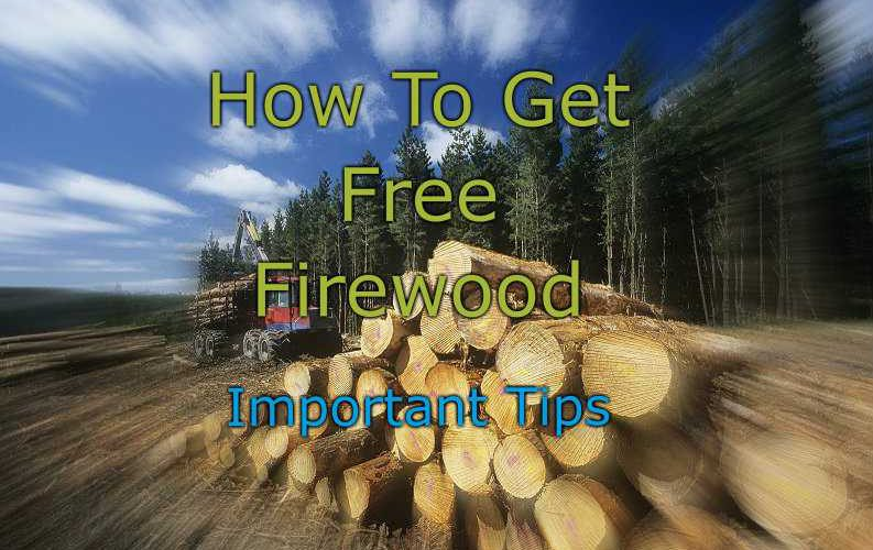 Best Way To Get Free Firewood