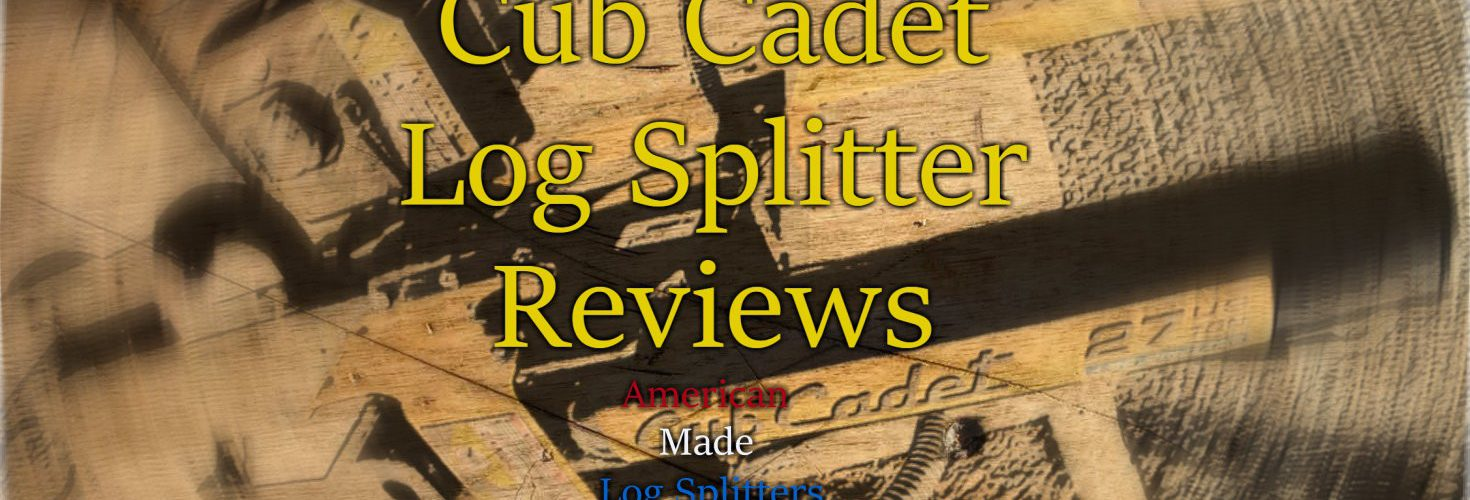 Cub Cadet Log Splitter Review
