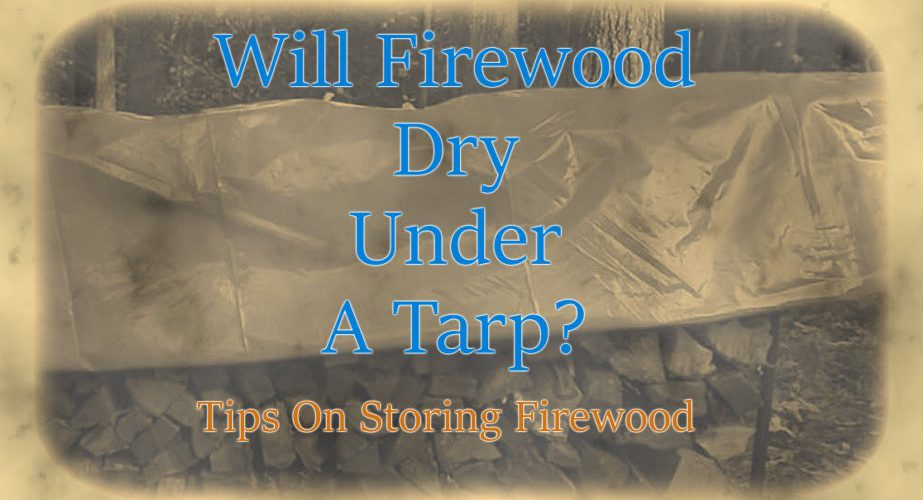 Will Firewood Dry Under A Tarp